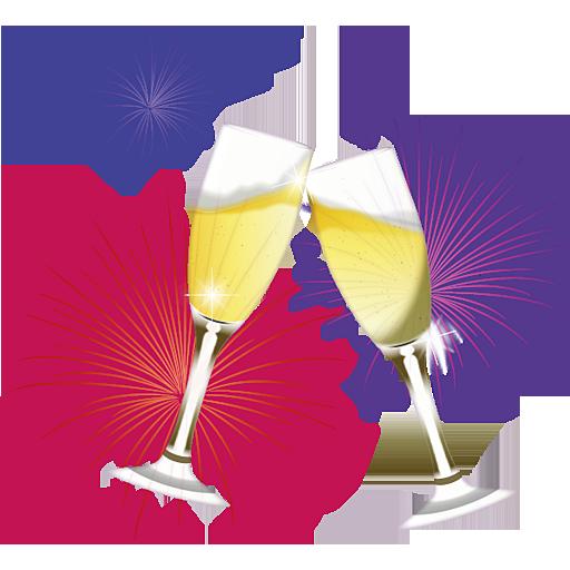 Champaign clipart champagne celebration. Png transparent images all