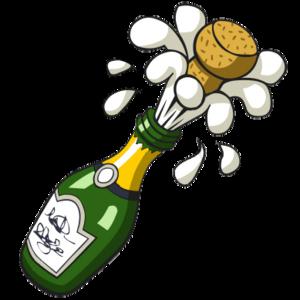 Champaign clipart champagne celebration. Ready set survive national