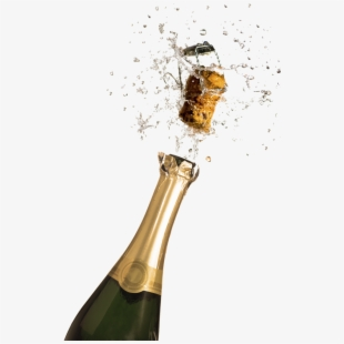 Bottle popping happy new. Champaign clipart champagne clink