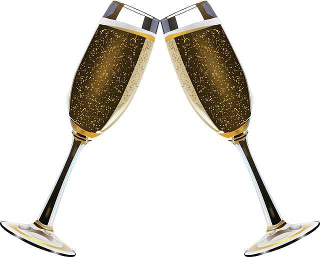 Champaign clipart champagne clink. Free image on pixabay