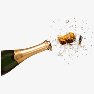 Bottle popping happy new. Champaign clipart champagne cork