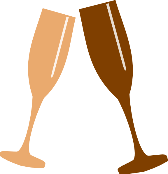 Champagne Glass Clip Art at Clker