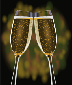 Champaign clipart champagne glass. Glasses clip art at
