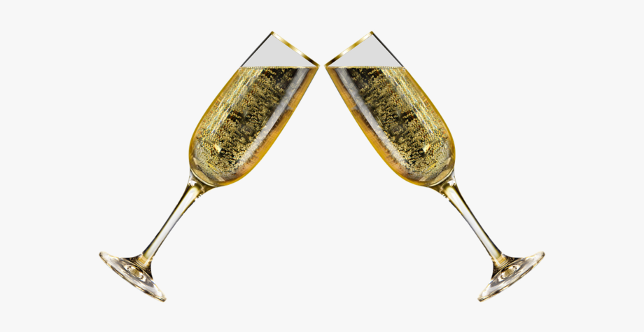 Glasses new years eve. Champaign clipart champagne glass