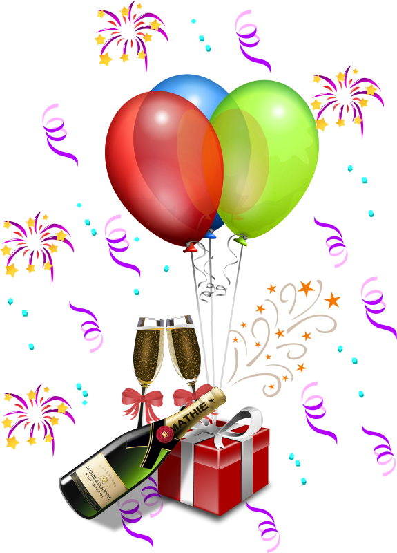 Free showers merlin clip. Champaign clipart champagne party