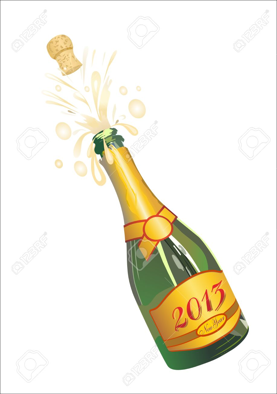 Champaign clipart champagne pop.  collection of bottle