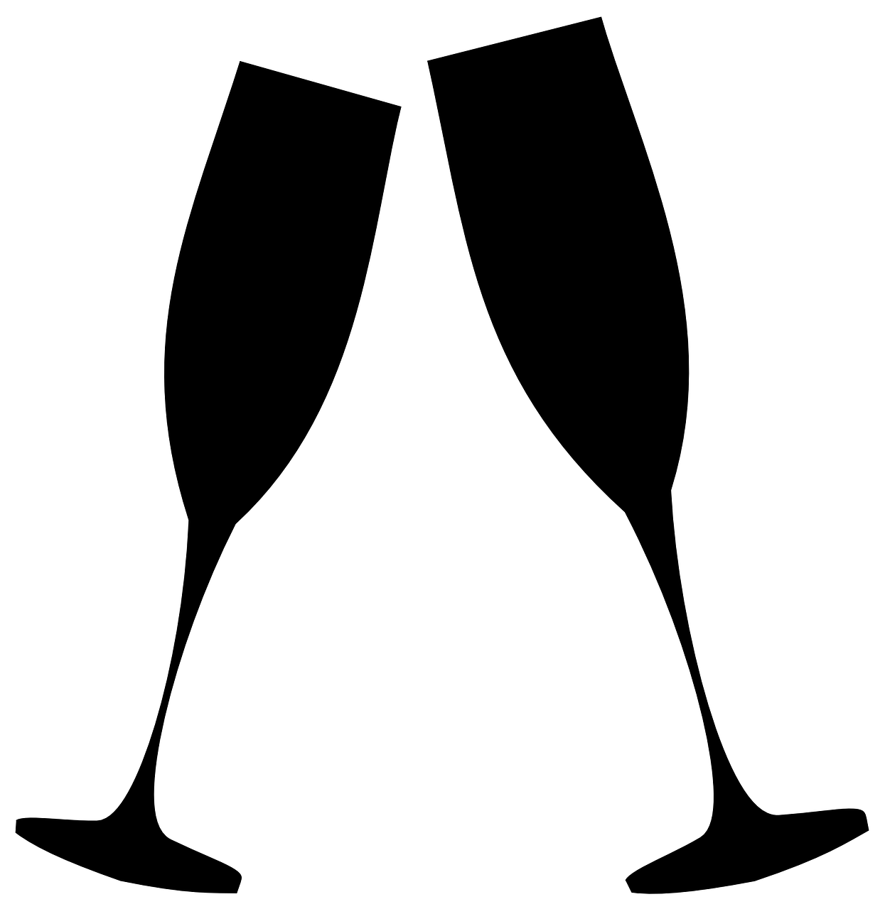 Champaign clipart champagne toast. Free image on pixabay