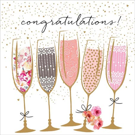 Congratulations champagne portfolio cards. Champaign clipart congratulation