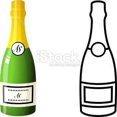 Images of champagne bottles. Champaign clipart liquor bottle
