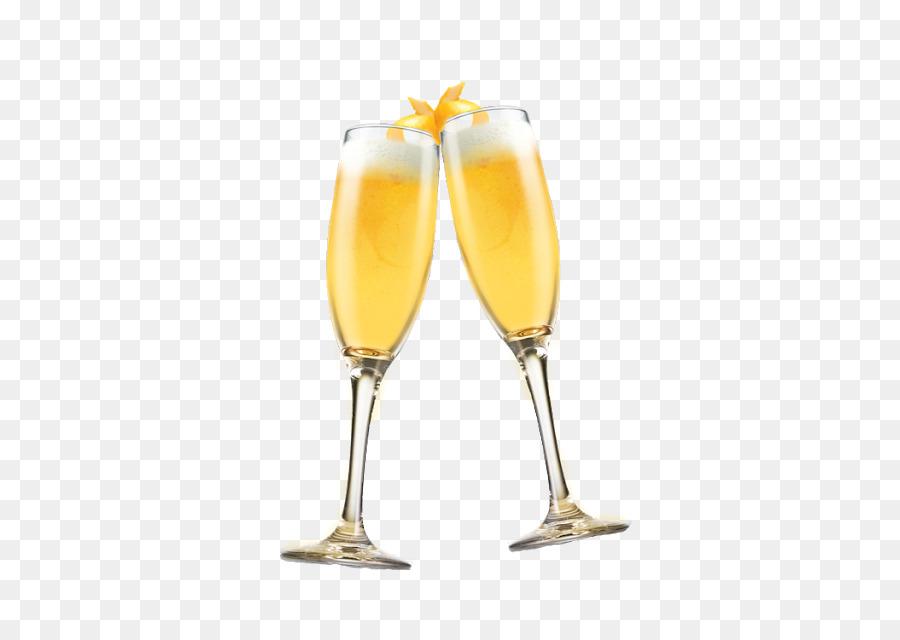 Cocktail bellini champagne wine. Champaign clipart mimosa glass