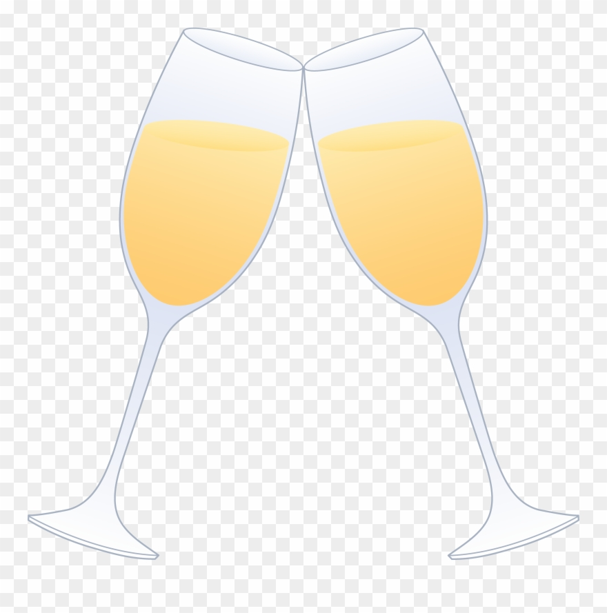 Cheers champagne glass two. Flutes clipart name