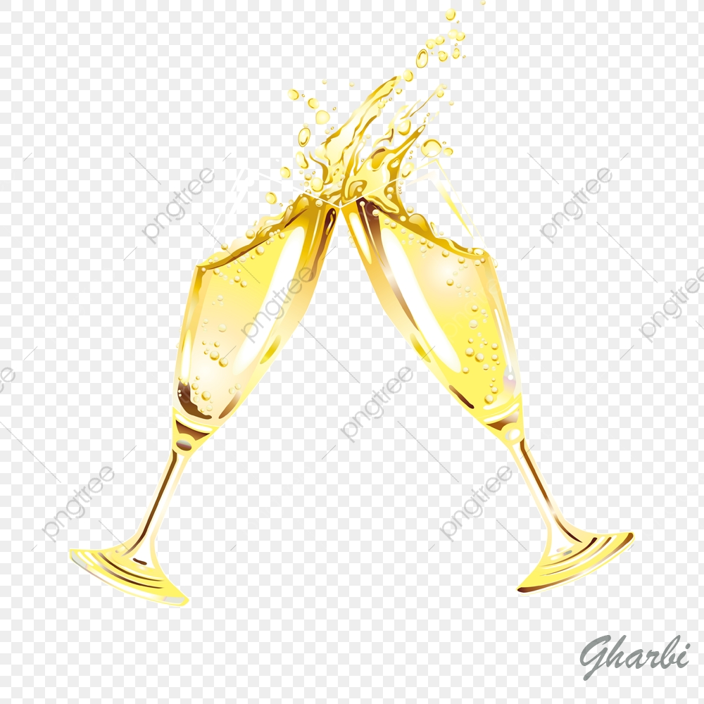 Year champagne png . Champaign clipart new years eve