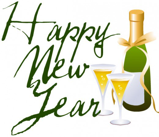 Champaign clipart new years eve. Free clip art hubpages