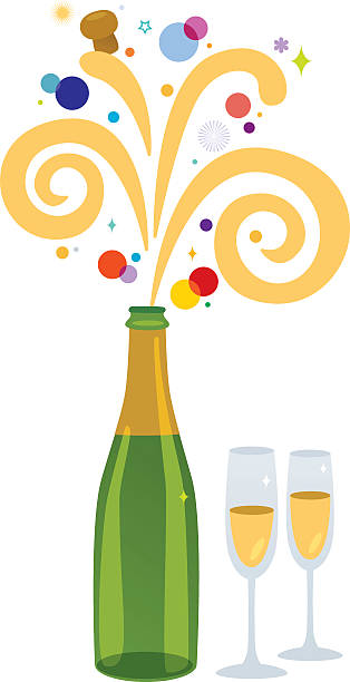 Champagne bottle clipartxtras jpeg. Champaign clipart popped