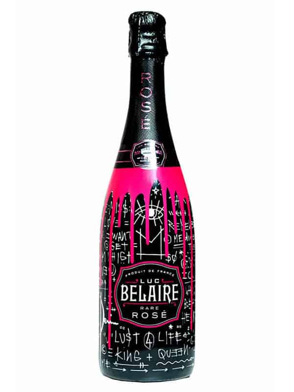 Champaign clipart sparkling champagne. Luc belaire rose limited