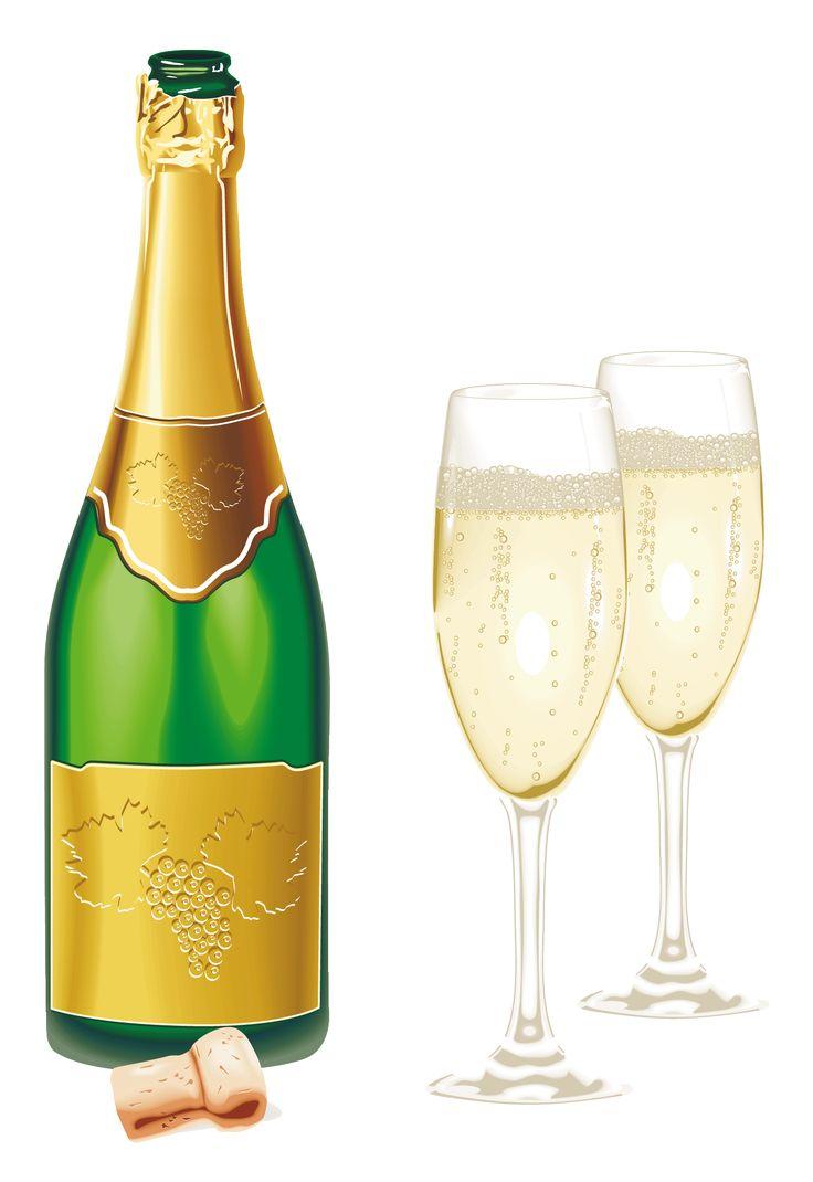 best flessen images. Champaign clipart sparkling champagne