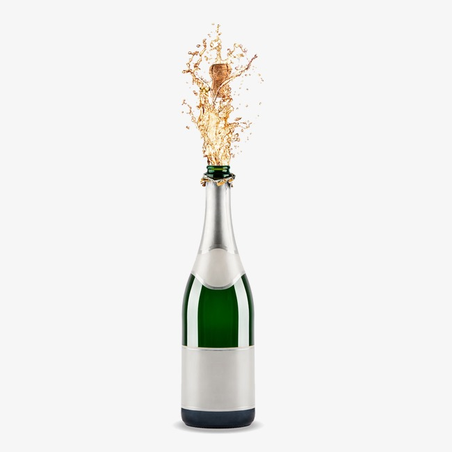Champaign clipart splash. Spilled champagne bottle png