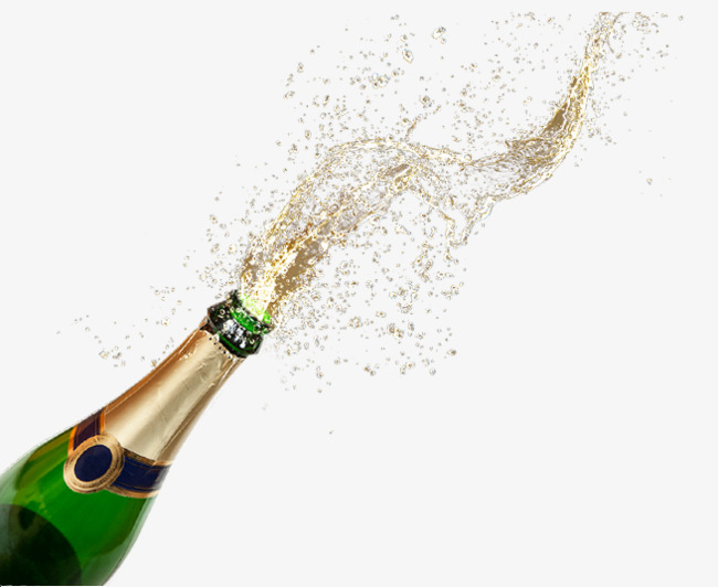 Free champagne pull material. Champaign clipart splash