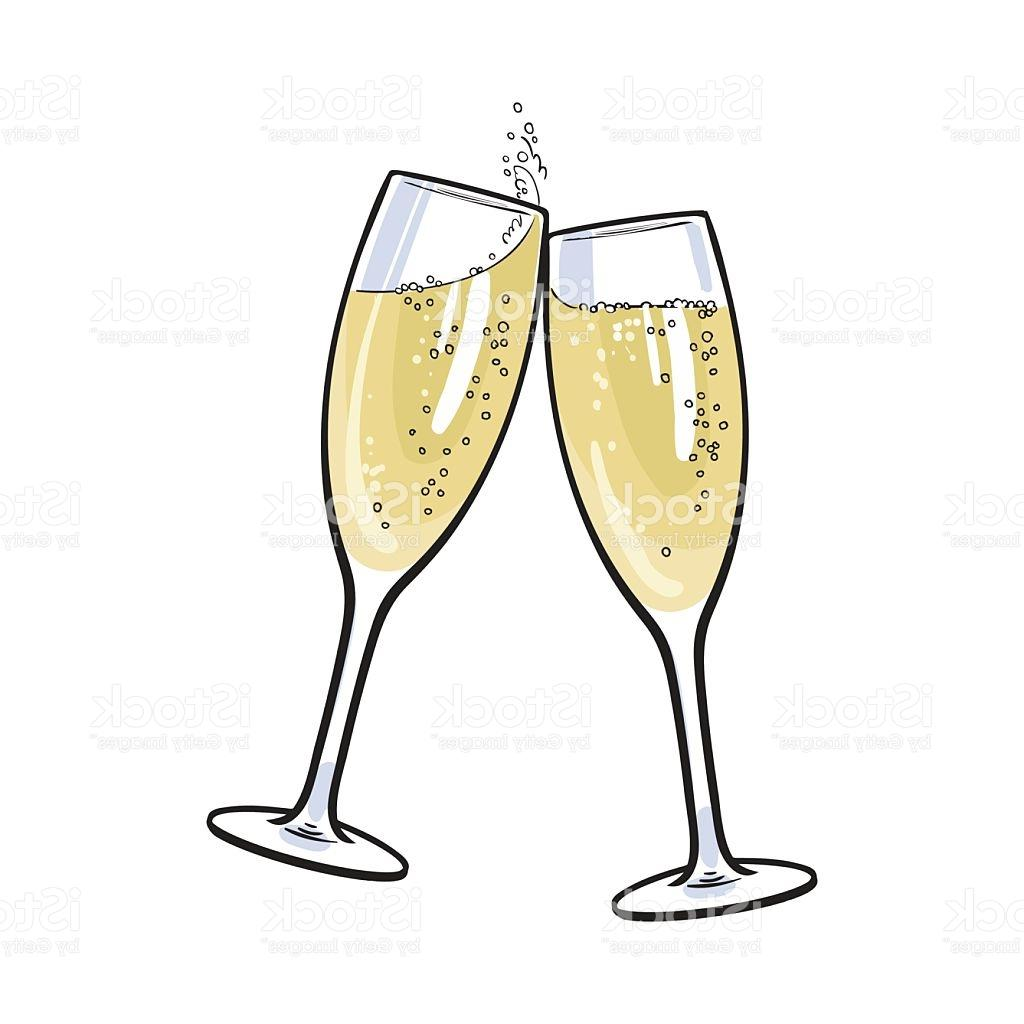 Unique toast champagne glass. Champaign clipart