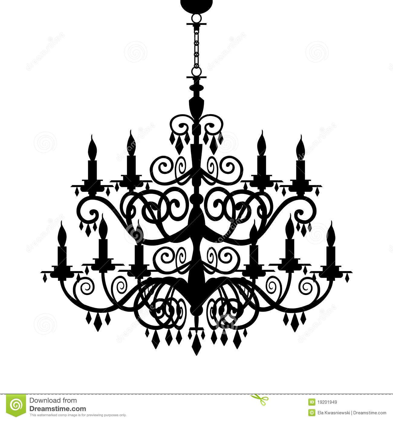Pin by roxanne kitty. Chandelier clipart baroque