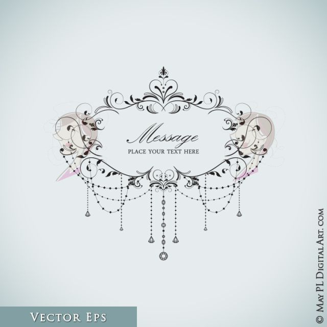 Free old cliparts download. Chandelier clipart border