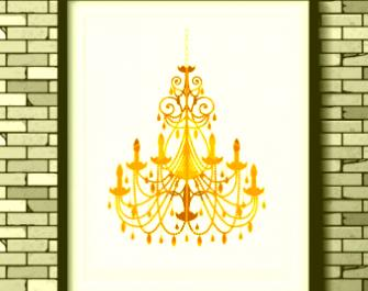 Chandelier clipart gold chandelier. Clip art seirtec org