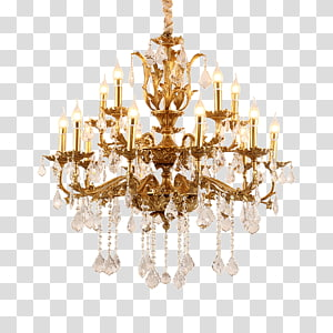 Chandelier clipart gold chandelier. Pendant light crystal fixture