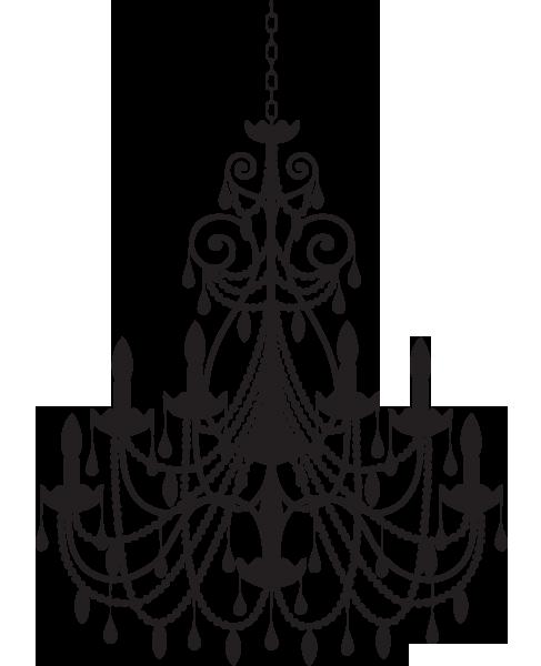 Chandelier clipart transparent background. Png mart