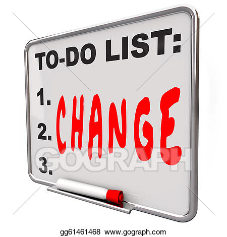 Change clipart. To do list word