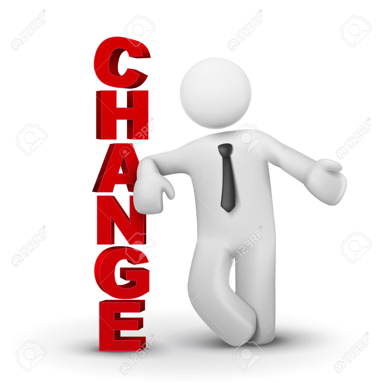 Change clipart. In business