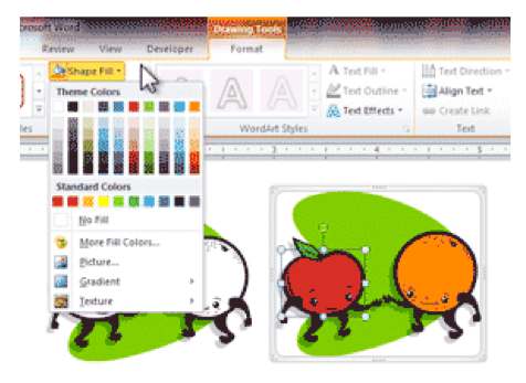 Color clipart word. How to edit clip