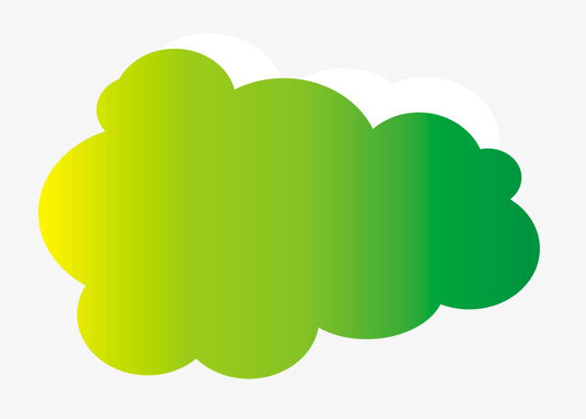 Change clipart png. Creative cartoon clouds gradual