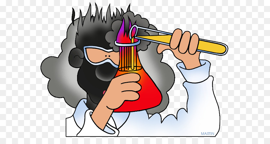 Reaction chemistry substance change. Chemical clipart clip art