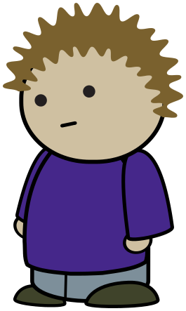 Character clipart. Free poses picture of