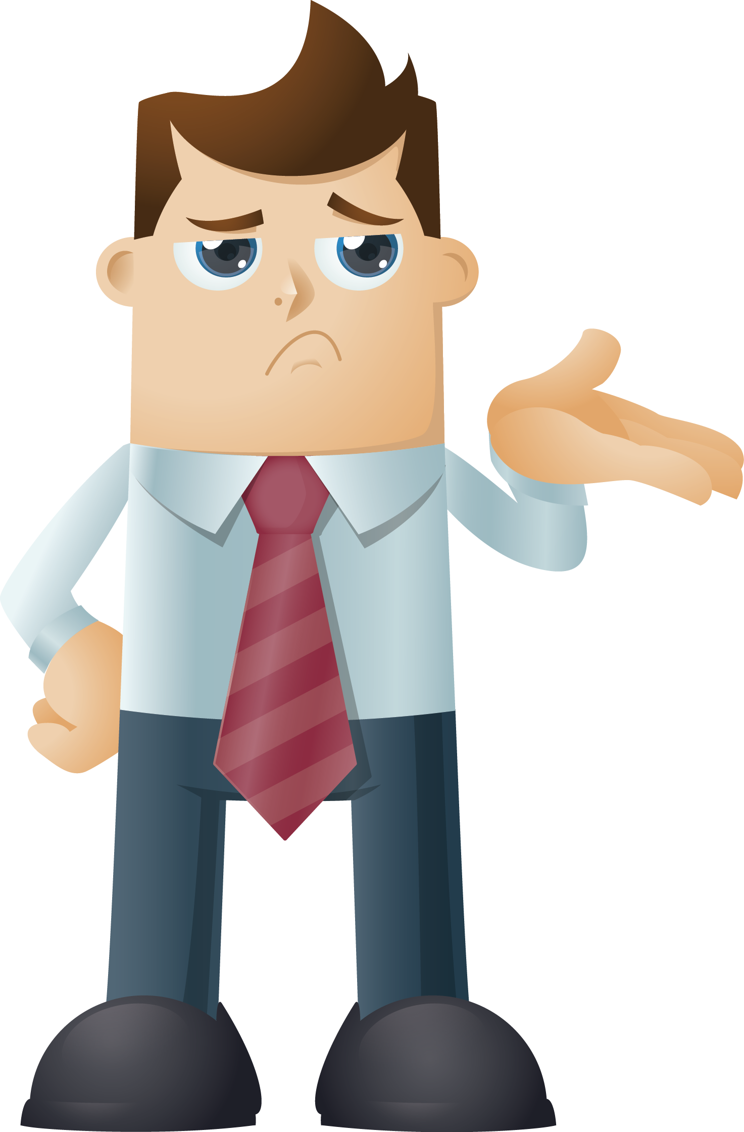 Businessman characters timsladeblog wordpress. Character clipart business man