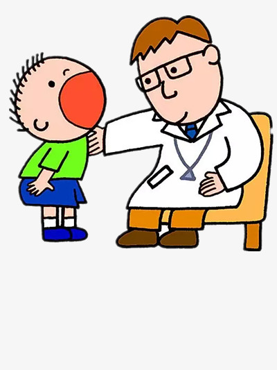 The children s doctor. Character clipart children's