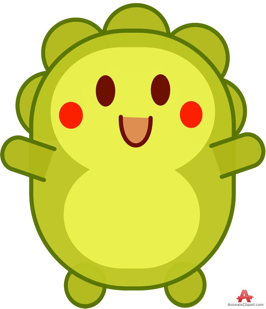 Dinosaur cartoon free design. Character clipart cute