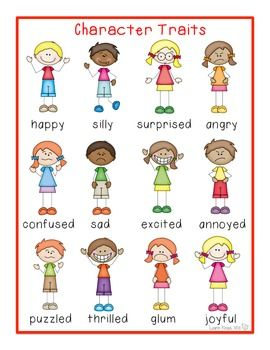 Pin on write this. Emotions clipart character trait