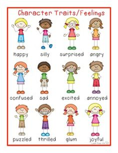 Emotions clipart character feeling. Writers workshop poster adding