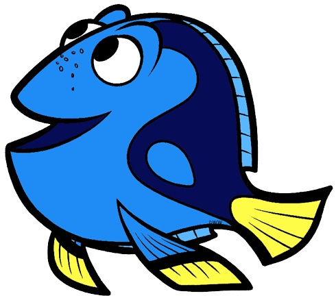 Clip art disney galore. Character clipart finding dory