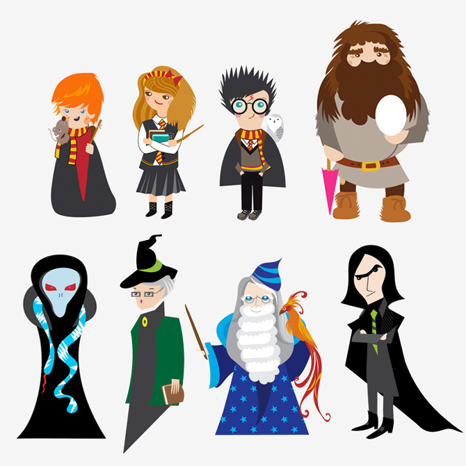 For visitbritain sarit evrani. Character clipart harry potter