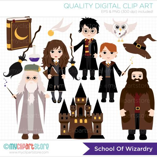 On broom google search. Character clipart harry potter