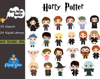 Characters clipart harry potter. Station