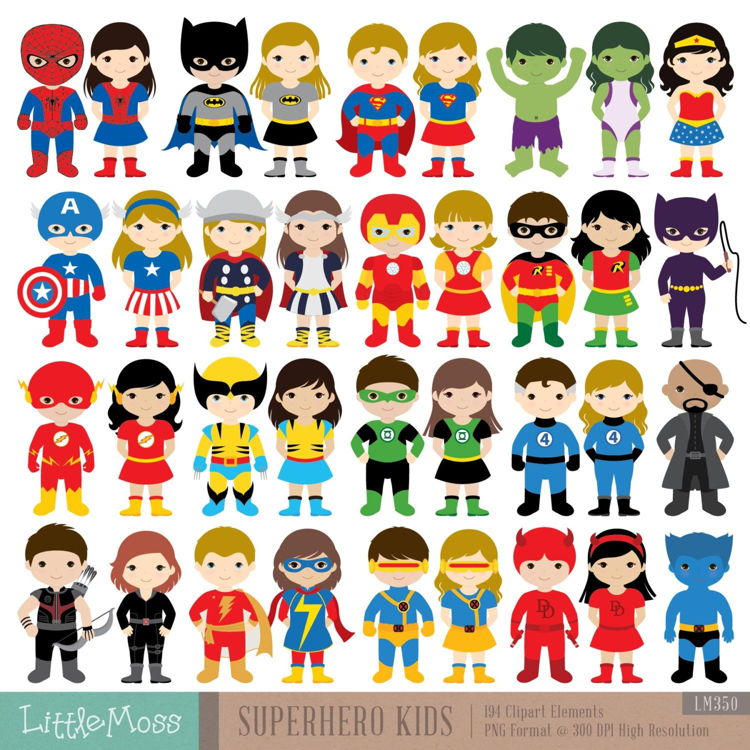 kids costumes superheroes. Costume clipart superhero outfit