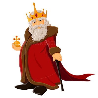 character clipart king
