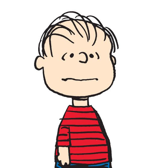 Character clipart linus.  best peanuts images