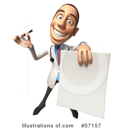 Character clipart male. White doctor illustration by