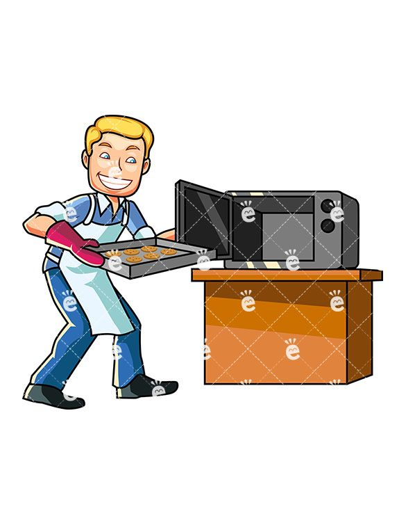 Character clipart male.  best cooking images