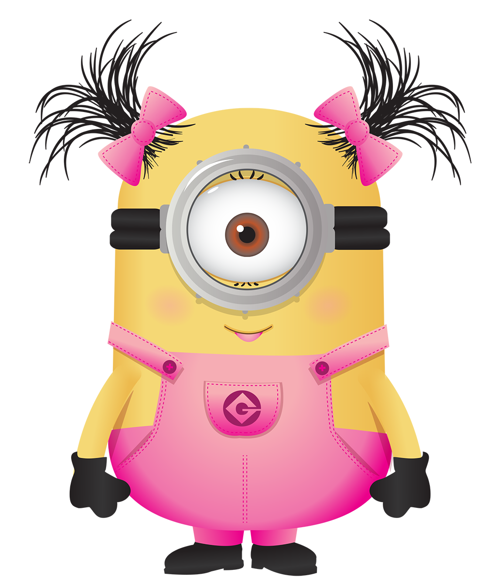 Minions menina rosa imagens. Lunchbox clipart baggie