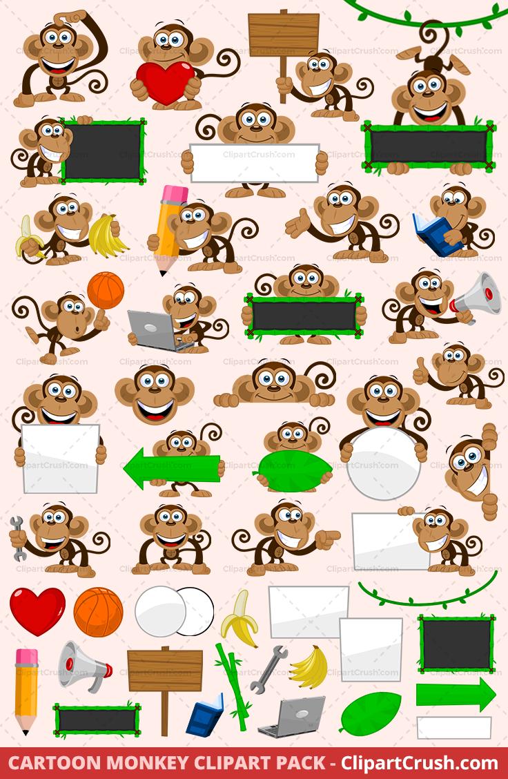 Cartoon svg monkeys cute. Monkey clipart school